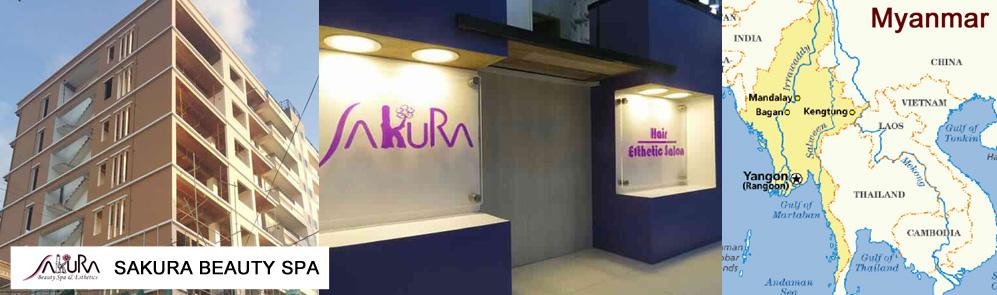 Ideal Japanese style beauty salon  Myanmar| SAKURA BEAUTY SPA